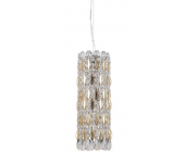 Crystal Lux LIRICA SP3 CHROME/GOLD-TRANSPARENT 2201/203