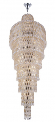 Crystal Lux LIRICA SP40 D700 CHROME/GOLD-TRANSPARENT 2201/340D